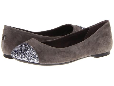 Balerini Sperry Top-Sider - Annabelle - Grey Suede/Silver Glitter