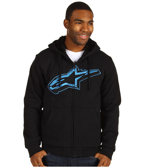 Bluze Alpinestars - Core Star Fleece Hoodie - Black