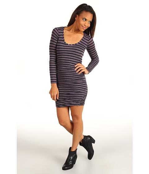 Rochii Splendid - Striped L/S Dress - Shadow