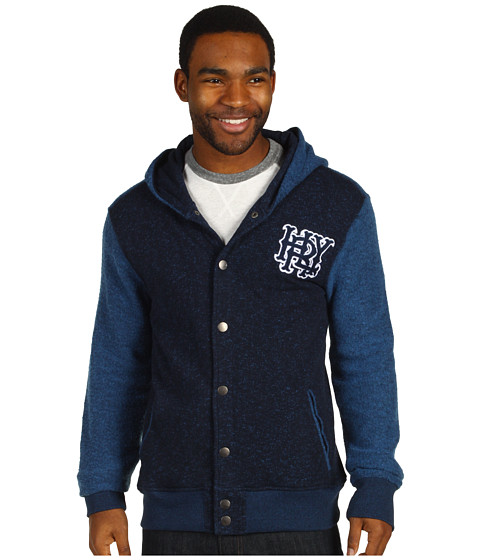 Bluze Hurley - Retreat Grade Fleece - Heather Navy