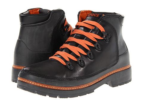 Ghete Crocs - Cobbler Hiker Boot - Black/Black