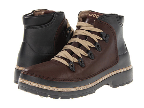 Ghete Crocs - Cobbler Hiker Boot - Espresso/Black
