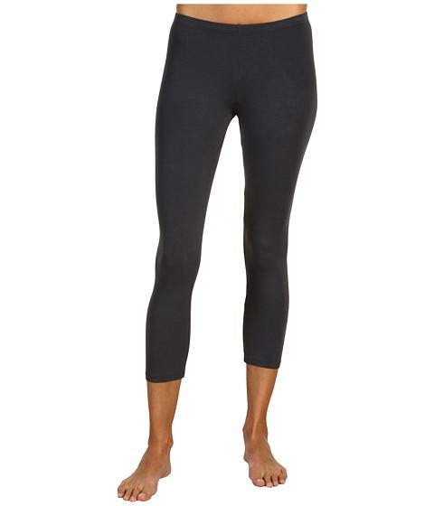 Pantaloni Splendid - Modal Crop Leggings - Coal