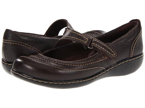 Balerini Clarks - Ashland Avenue - Brown Tumbled Leather