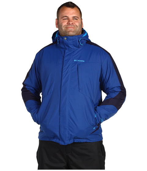 Jachete Columbia - Whirlibirdâ⢠II Interchange Jacket - Extended - Royal/Ebony Blue/Ebony Blue/Royal