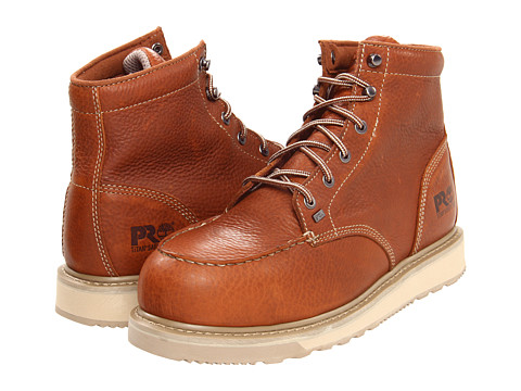 Ghete Timberland - Barstow Wedge Safety Toe - Rust