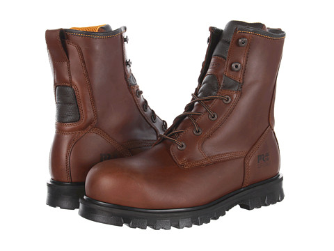 """Ghete Timberland - Boomtown 8\"""" Safety Toe - Brown"""