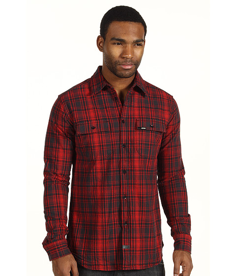 Camasi KR3W - Automatic L/S Woven - Red