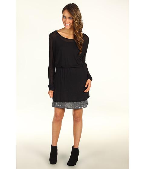 Rochii Splendid - Sequins Jersey Dress - Black