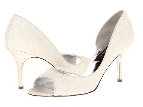 Pantofi Nina - Fern - Ivory Glitter