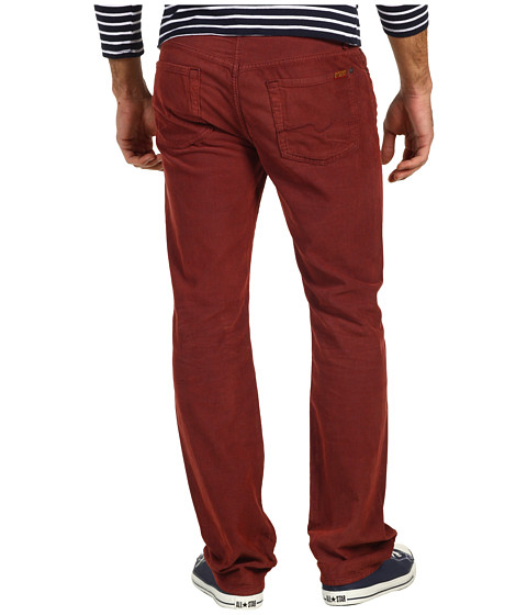 Pantaloni 7 For All Mankind - Standard Original Straight Corduroy - Spicy Red