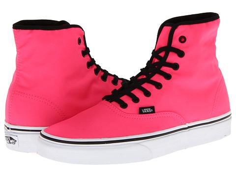 Adidasi Vans - Authentic Hi - Neon Pink