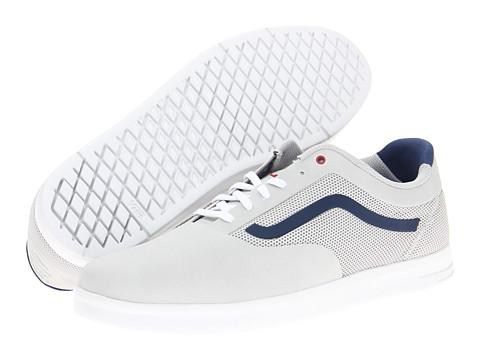 Adidasi Vans - Graph - Light Grey/Navy/Red