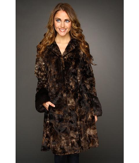 Jachete Hilary Radley Studio - Faux Fur Coat - Brown
