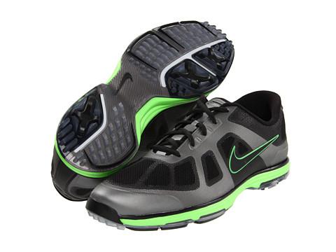 Adidasi Nike - Lunar Ascend - Black/Black/Grey/Electric Green