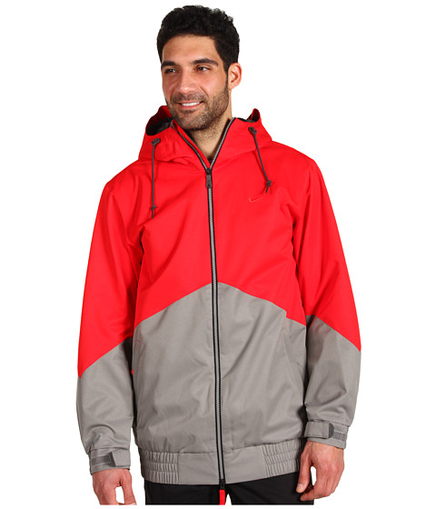 Bluze Nike Action - Kampai Snowboarding Jacket - Challenge Red/Light Charcoal