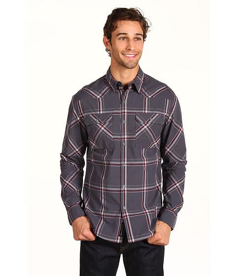 Camasi DKNY Jeans - L/S Yarn Dyed Plaid Shirt - Grey