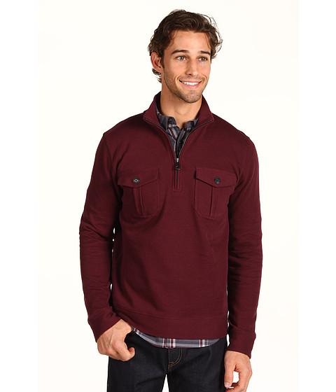 Bluze DKNY Jeans - Flatback Rib Pullover - Club Crimson