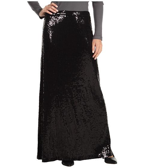 Fuste MICHAEL Michael Kors - Sequin Maxi Skirt - Black
