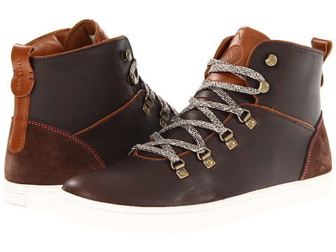 Ghete Ted Baker - Almarn - Brown Leather