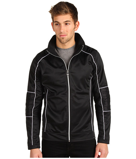 Jachete Marc Ecko - Piped Moto Track Jacket - Black