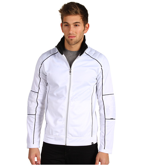 Jachete Marc Ecko - Piped Moto Track Jacket - Glacier
