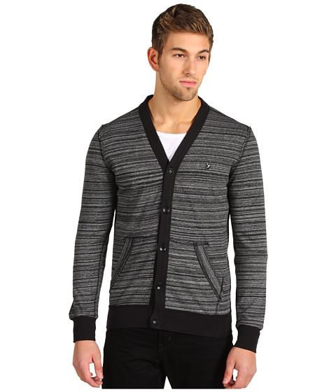 Bluze Marc Ecko - Stripe Jersey Cardigan - Black