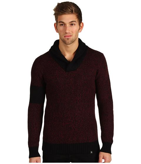 Pulovere Marc Ecko - Armband Shawl Rib Sweater - Tawny Port