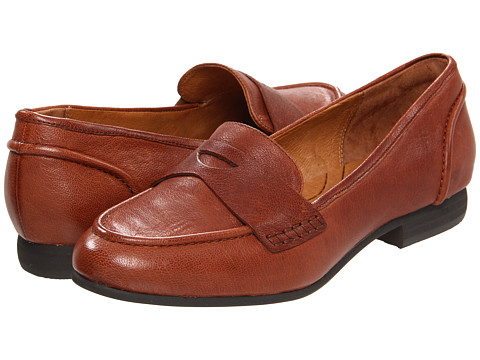 Pantofi Clarks - Charlie Penny - Cognac Leather