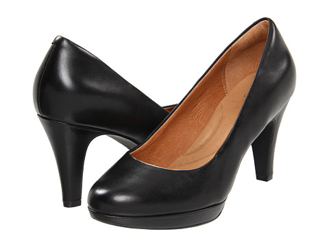 Pantofi Clarks - Wessex Wyvern - Black Leather