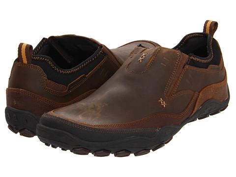 Adidasi SKECHERS - Pebble - Daley - Dark Brown