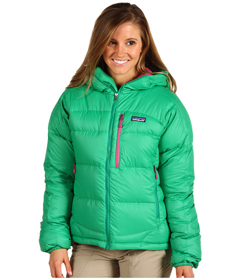 Jachete Patagonia - Fitz Roy Down Hoodie - Brilliant Green