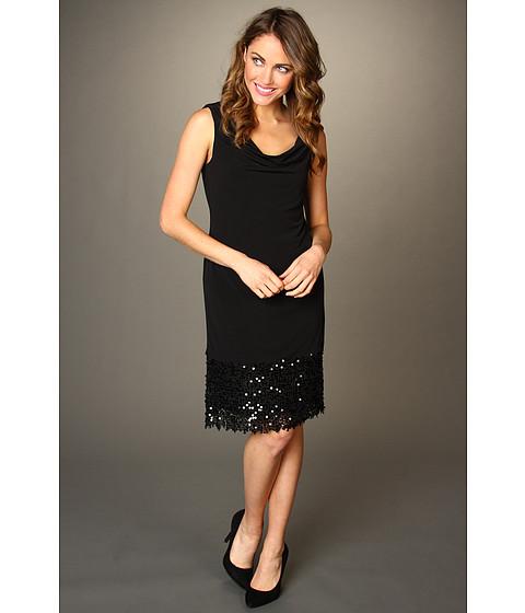 Rochii Elie Tahari - Valla Dress - Black