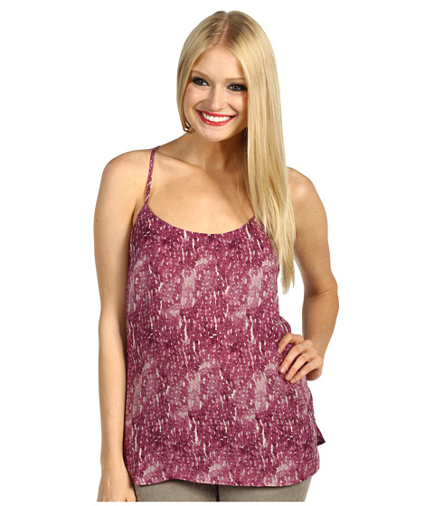 Bluze AG Adriano Goldschmied - Watercolor Paillette Criss Cross Shell - Plum