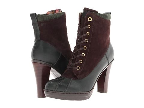 Pantofi Tommy Hilfiger - Harper - Pine Green