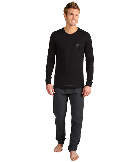 Lenjerie Diesel - Juster Pajama Set JYT - Black