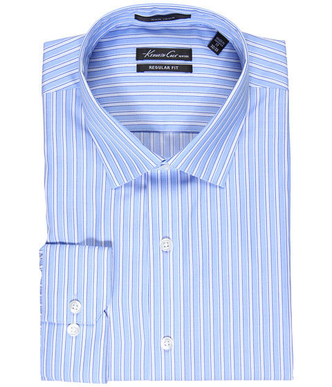 Camasi Kenneth Cole New York - Non-Iron L/S Regular BC FCY Woven - Water Mill