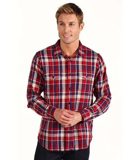 Camasi Dockers - Modern Classic Double Cloth Shirt - Fullerton Rio Red