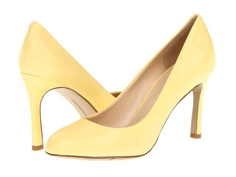 Pantofi Nine West - Drusilla - Light Yellow Leather