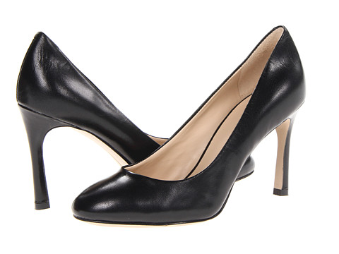 Pantofi Nine West - Drusilla - Black Leather Leather