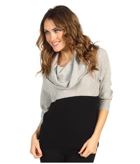 Bluze BCBGMAXAZRIA - Hudson Sweater - Light Heather Grey Combo