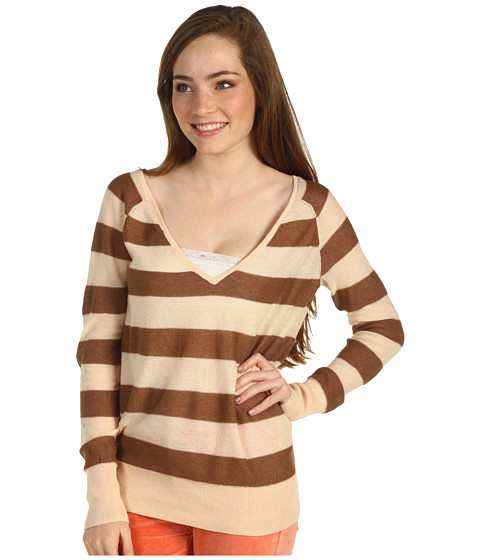 Bluze Free People - Rugby Stripe Pullover - Blush Combo