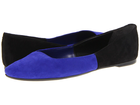 Balerini Nine West - Kicheya - Black/Blue Suede