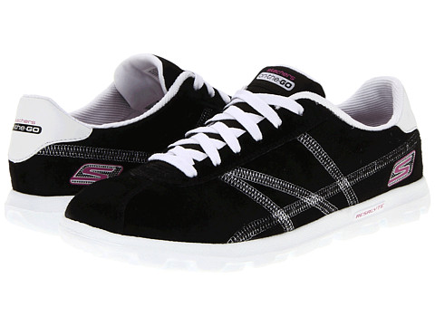 Adidasi SKECHERS - On the GO - Sutra - Black/White