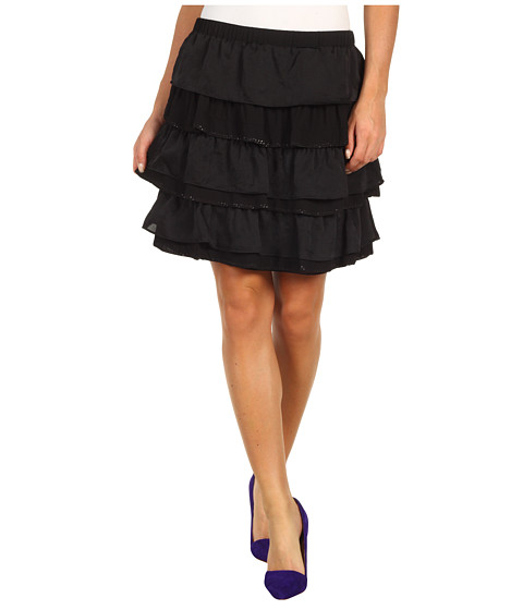 Fuste MICHAEL Michael Kors - Ruffle Skirt - Black
