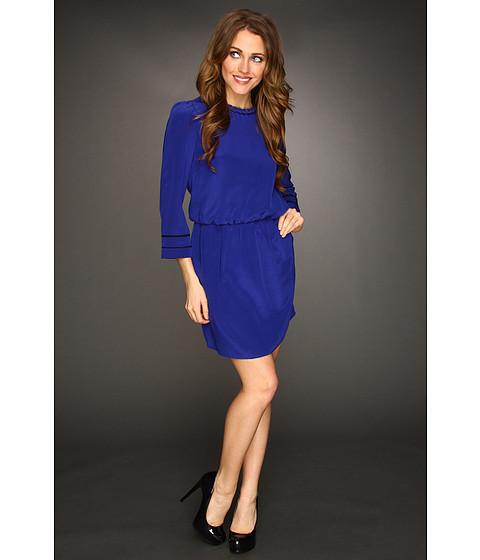 Rochii Dolce Vita - Lynana Silk Dress - Blue