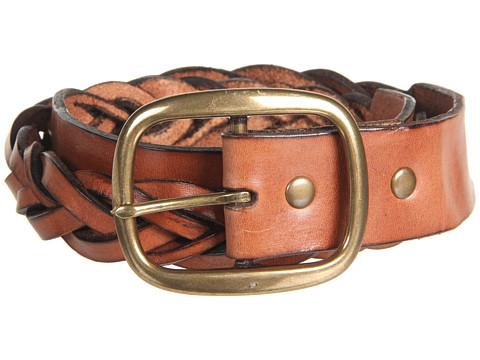 Curele Cole Haan - Heritage Braid Belt - Heritage Brown