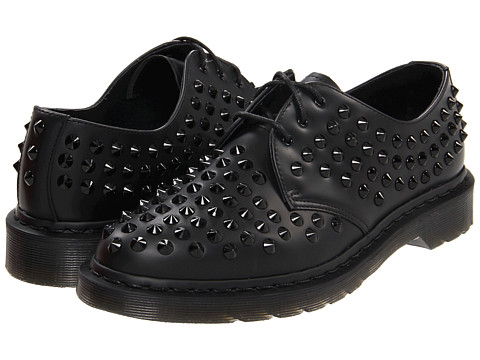 Pantofi Dr. Martens - Harlen All Stud 3-Eye - Black