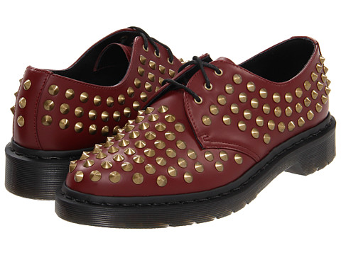 Pantofi Dr. Martens - Harlen All Stud 3-Eye - Cherry Red
