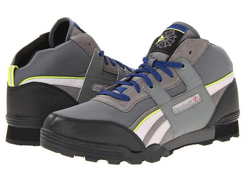 Adidasi Reebok - Workout Plus Mid Trail - Cyclone Grey/Carbon/Zinc Grey/Black/Charged Green